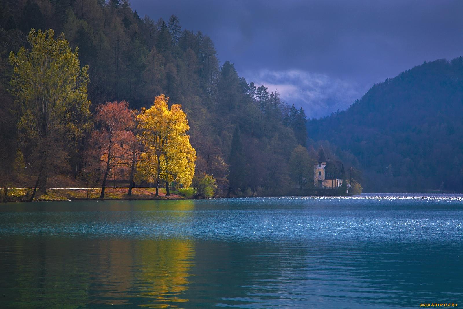 Озеро блед словения природа реки